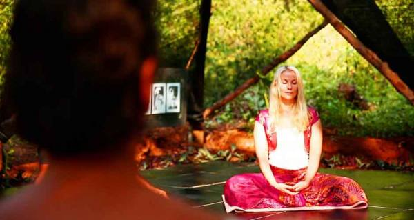 Meditation at Yoga Farm